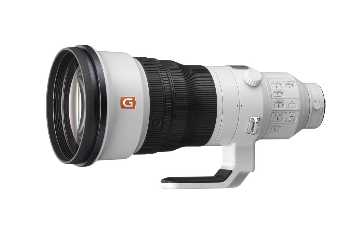 400mm F2.8 G Master™ Prime Lens (PRNewsfoto/Sony Electronics)