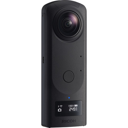 Ricoh Upgrades 360 Image Quality with THETA Z1