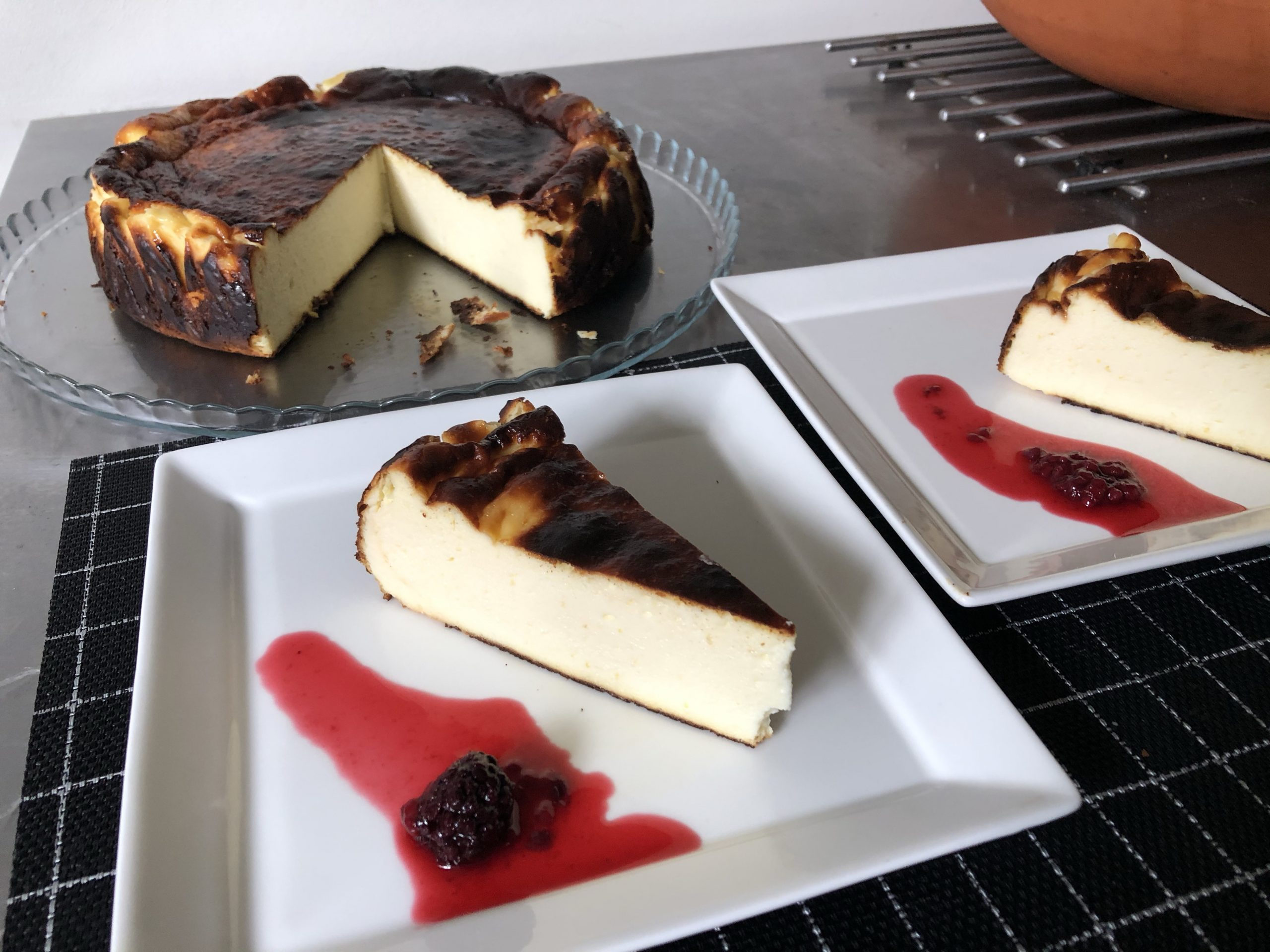 Food Photography: Basque Burnt Cheesecake