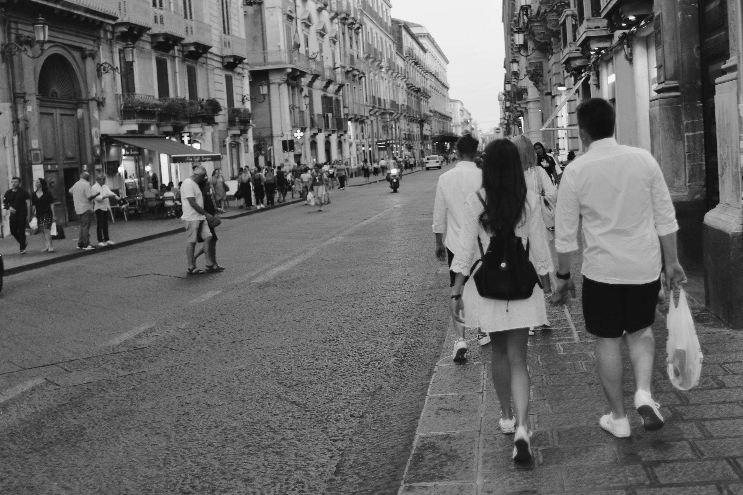 Test Print: Evening in Catania, Sicily