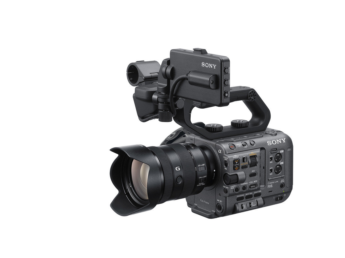 Sony Electronics Inc. today officially announced the FX6 (model ILME-FX6V) camera, the latest addition to Sony's Cinema Line.
