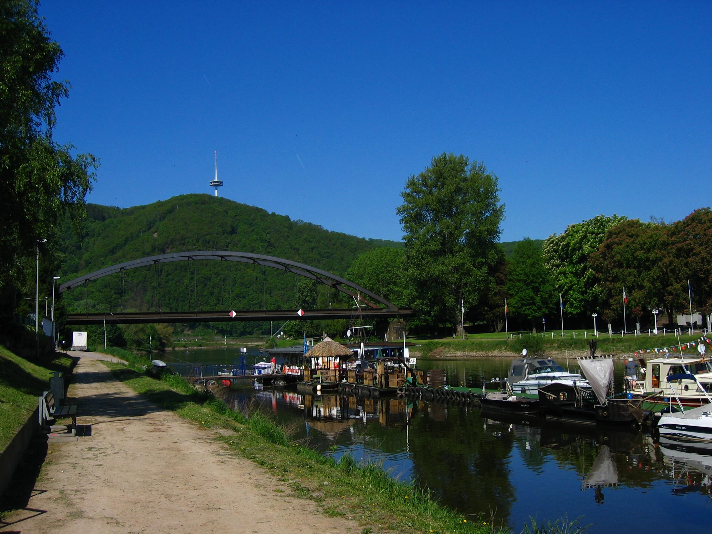 Einsenbahnbrücke.Lahnstein