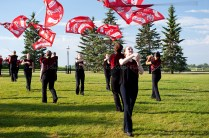 The talented Calgary Stampede Showband
