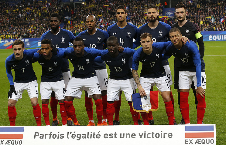 Select from 132569 premium france national soccer. French National Football Team To Arrive In St Petersburg For Friendly Against Russia Sport Tass