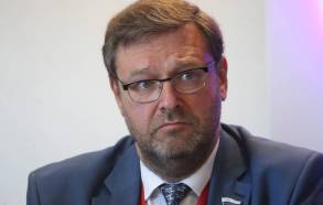 Chairman of the Russian Federation Council's Foreign Affairs Committee Konstantin Kosachev Alexander Demianchuk/TASS