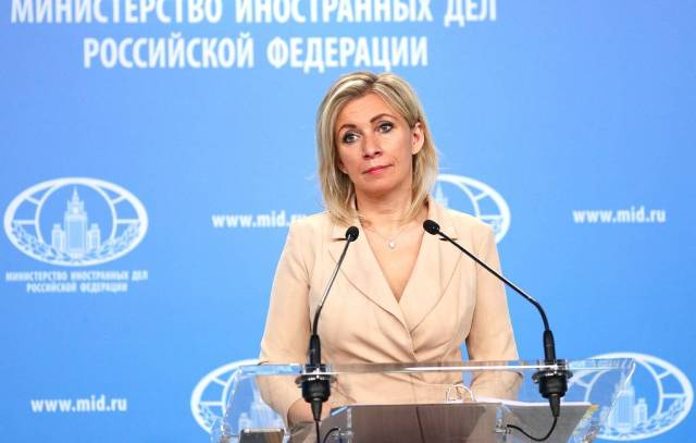 Russian Foreign Ministry Spokeswoman Maria Zakharova Russian Foreign Ministry/TASS