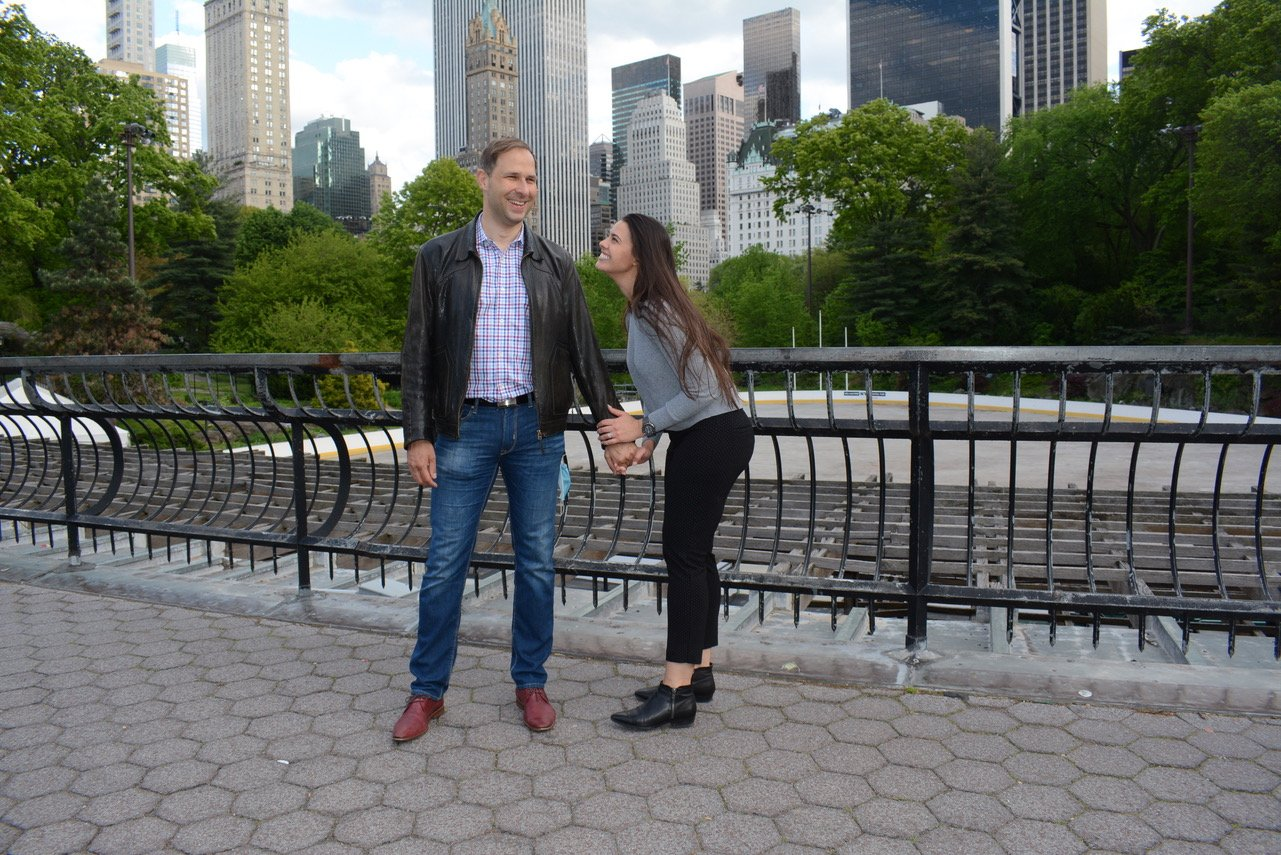romantic private Central Park tour with personal photographer
