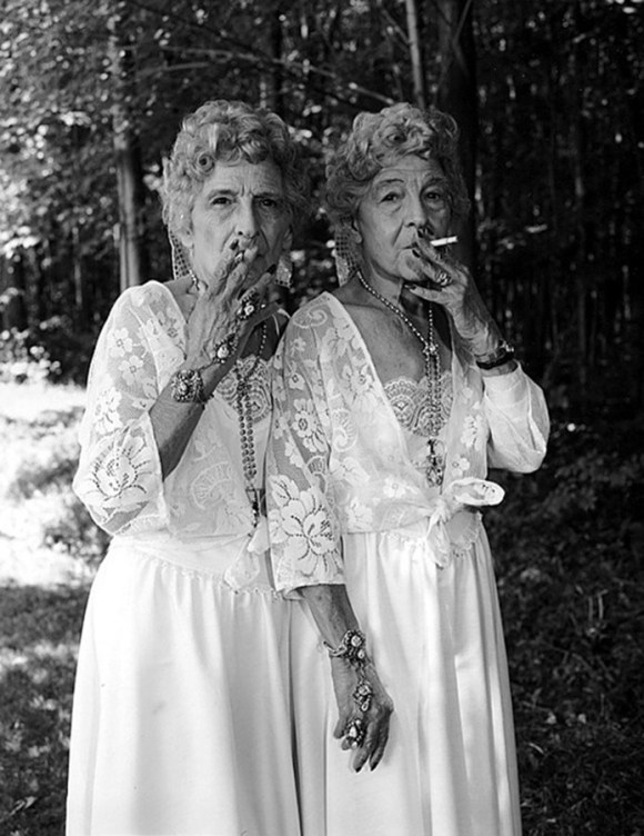 Twin Prostitutes, Date UnknownPhotography By Mary Ellen Mark