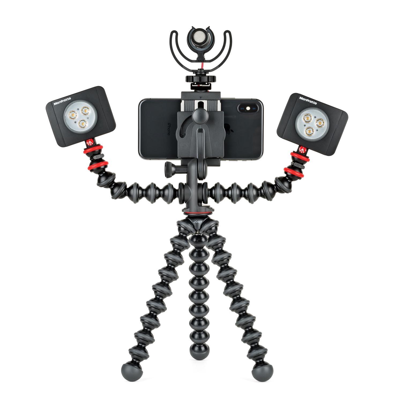 Joby Nouveau Gorillapod Mobile Rig Pour La Vido Et Une Gamme Plus Gorilla Pod 3k Kit Mobilerig