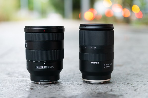 Le Sony FE 24-105mm f/4 G OSS face au Tamron 28-75 mm f/2,8 Di III RXD