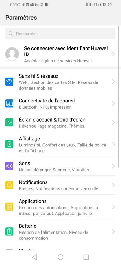 Huawei P Smart 2019 Screenshot 8