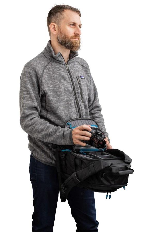 Shootout 14L Slim Backpack PT06 RearAccess BD