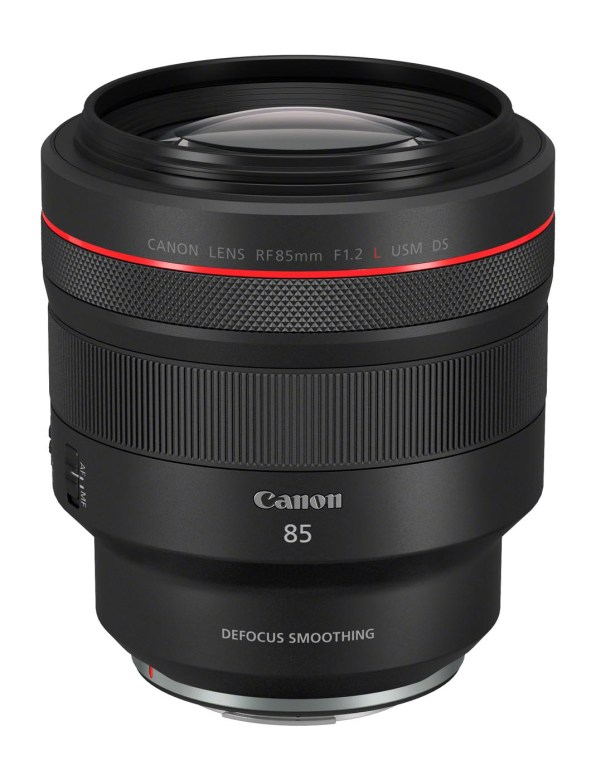 Le Canon RF 85 Mm F1,2L USM DS
