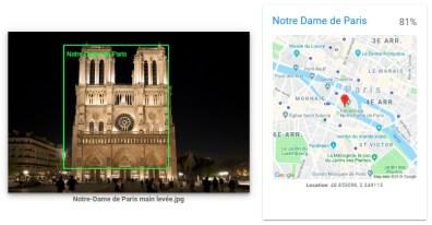 Google Image Analysis Tool Notre Dame 1