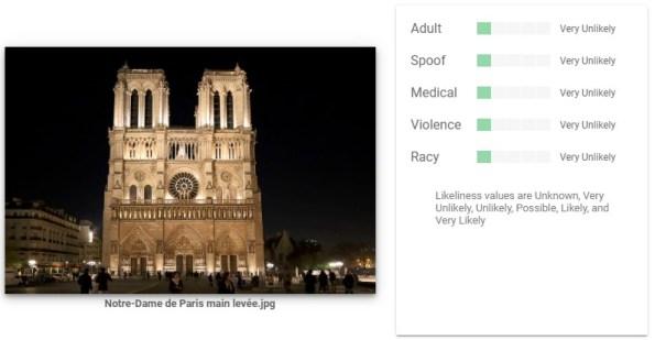 Google Image Analysis Tool Notre Dame 6