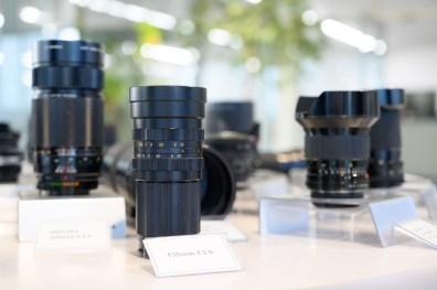 Quelques optiques vintage, comme ce 135mm f/3.5