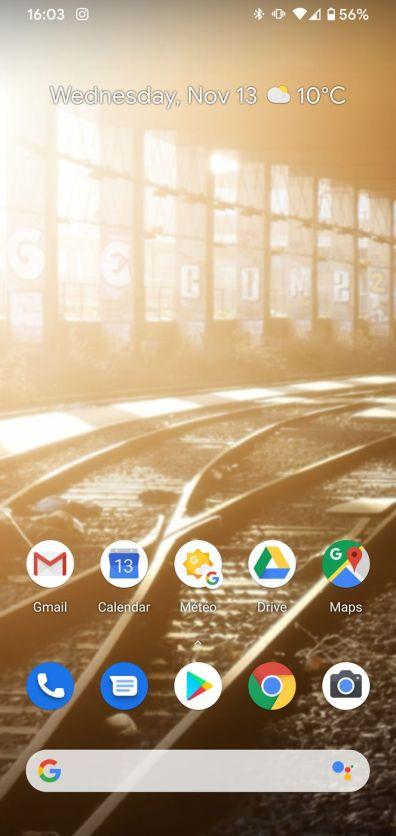 Google Pixel 4 XL Screenshot 20191113 160312