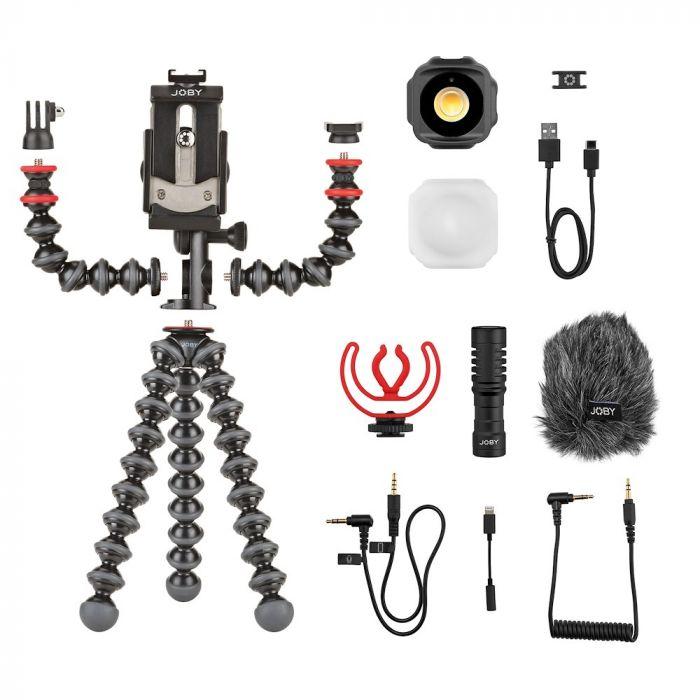 Gorillapod Joby Vlogging Kit Jb01645 Bww Kit