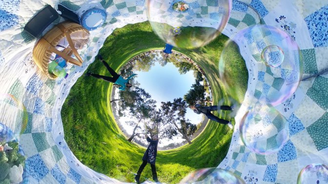 Share Your World With Vecnos 360 Camera