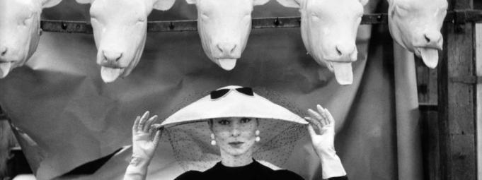 © Guy Bourdin Estate, Vogue, Chapeau-Choc, 1954