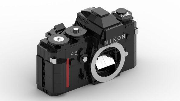 Nikon F3 Lego Noir
