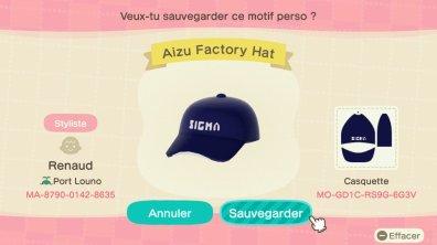Aizu Factory Sigma Animal Crossing