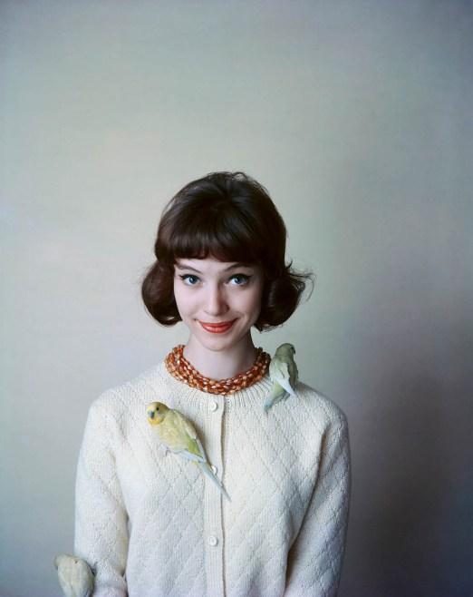 Anna Karina pour Korrigan, 1958 - © Sabine Weiss