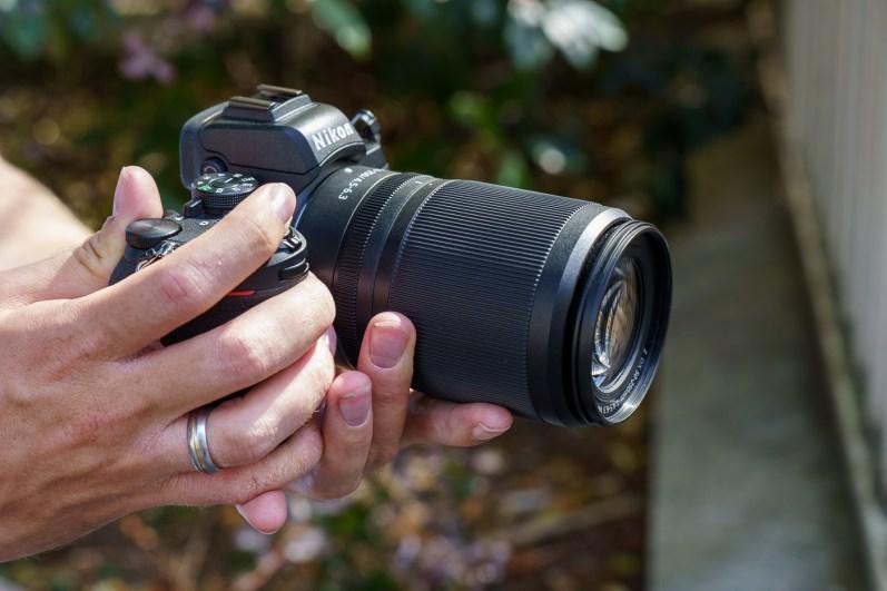 Objectif NIKKOR Z DX 50-250mm f/4,5-6,3 VR en position rétracté