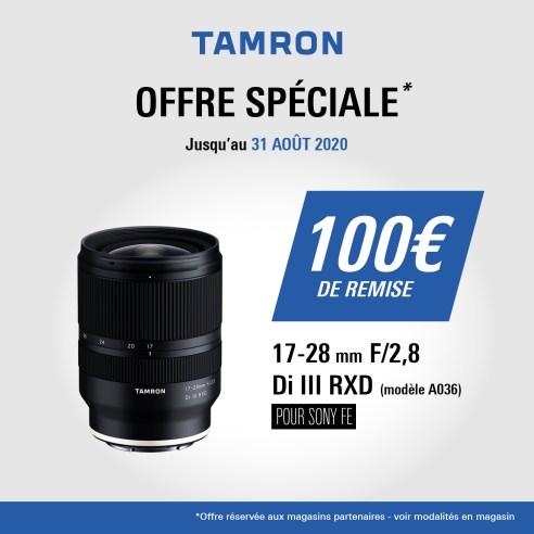 Offre Tamron 17 28 Ete 2020