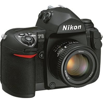 Nikon F6 Side