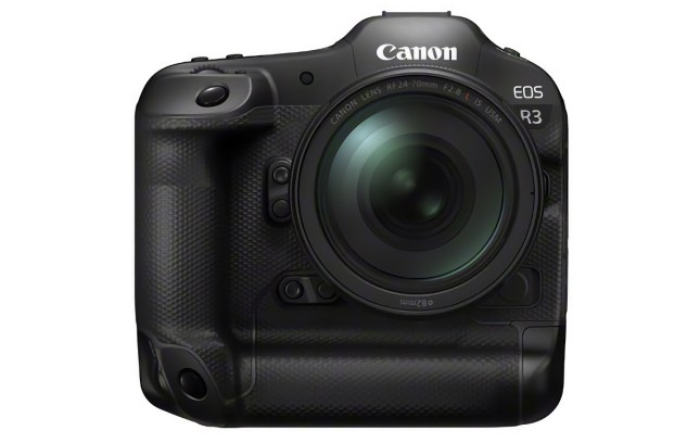 Canon EOS R3 Front DA