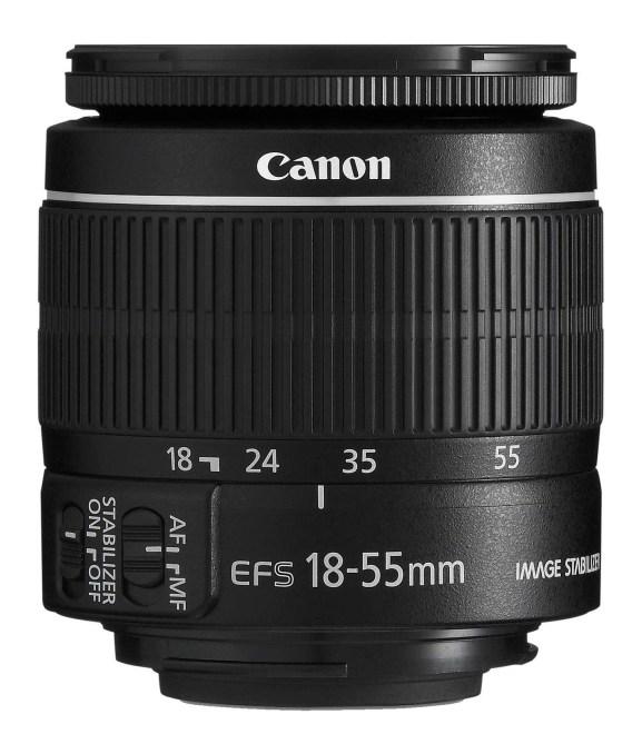 objectif de kit photo Canon