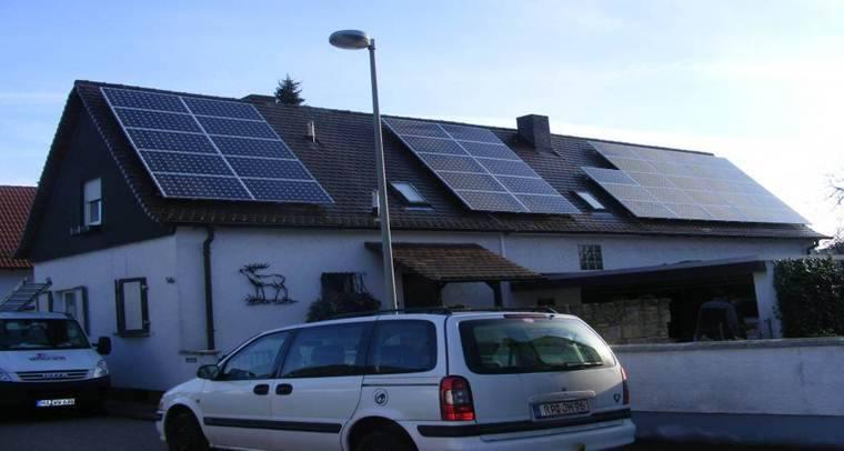 Mutterstadt, PV - Anlage (7,31 kWp)