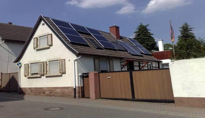 Herxheim, PV - Anlage (6,24 kWp)