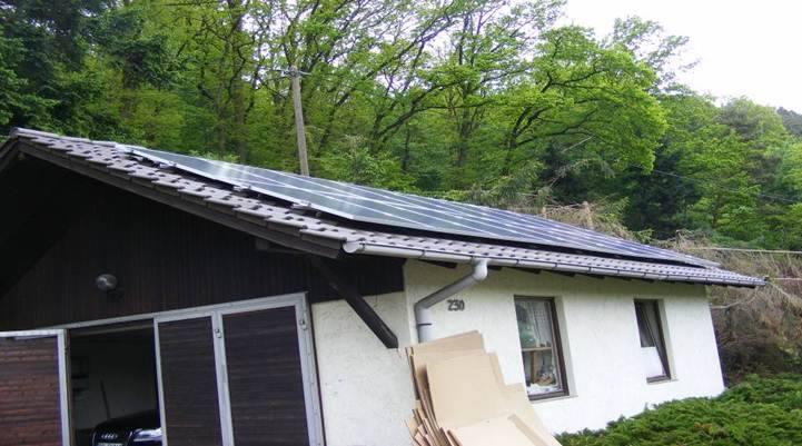 Maxdorf, PV - Anlage (3,68 kWp)