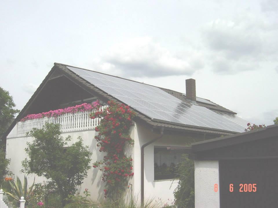Sandhausen, PV - Anlage (6,56 kWp)