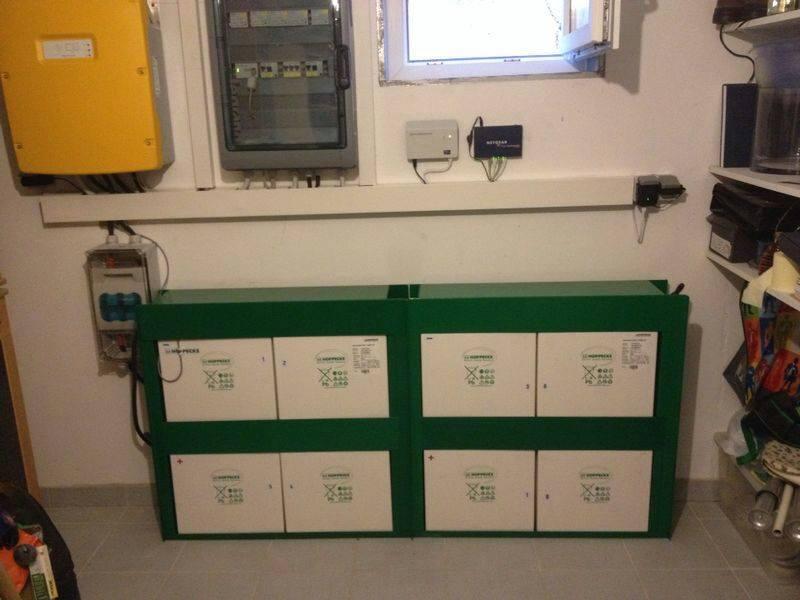 Altrip, PV - Anlage mit Speichersystem SMA SI 6.0 (10,00 kWp mit Nutzbarer Speicherkapazität 7,4 kWh und Ersatzstromfunktion