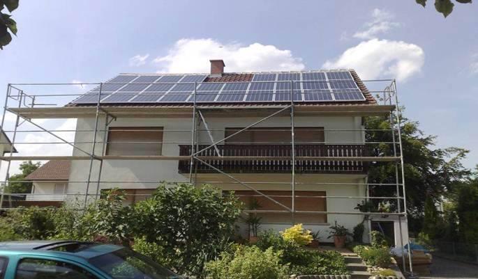 Herxheim, PV - Anlage (6,72 kWp)