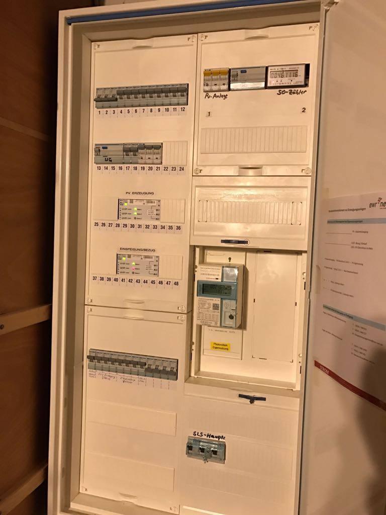 Lampertheim, Speichernachrüstung, LG Resu 7H & SE StorEdge & SE3500AC Nutzbare Kapazität 6,6 kWh