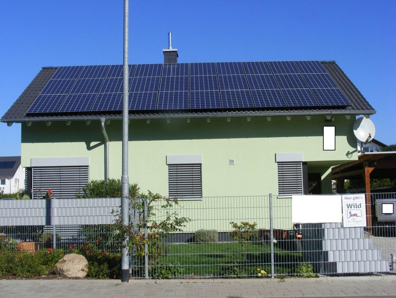 Frankenthal, PV - Anlage (7,5 kWp)