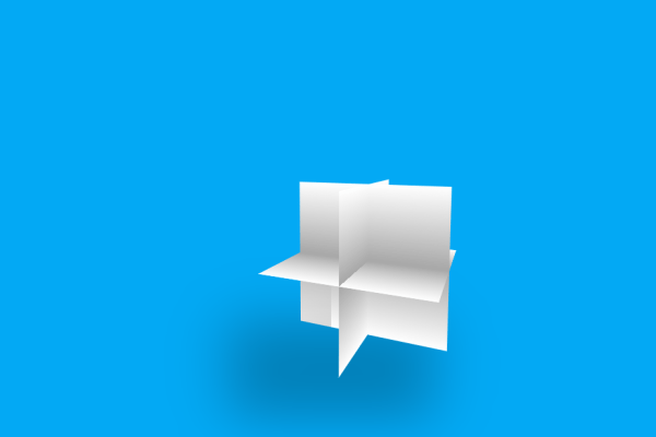 CSS transform property with 3D Box Rotation