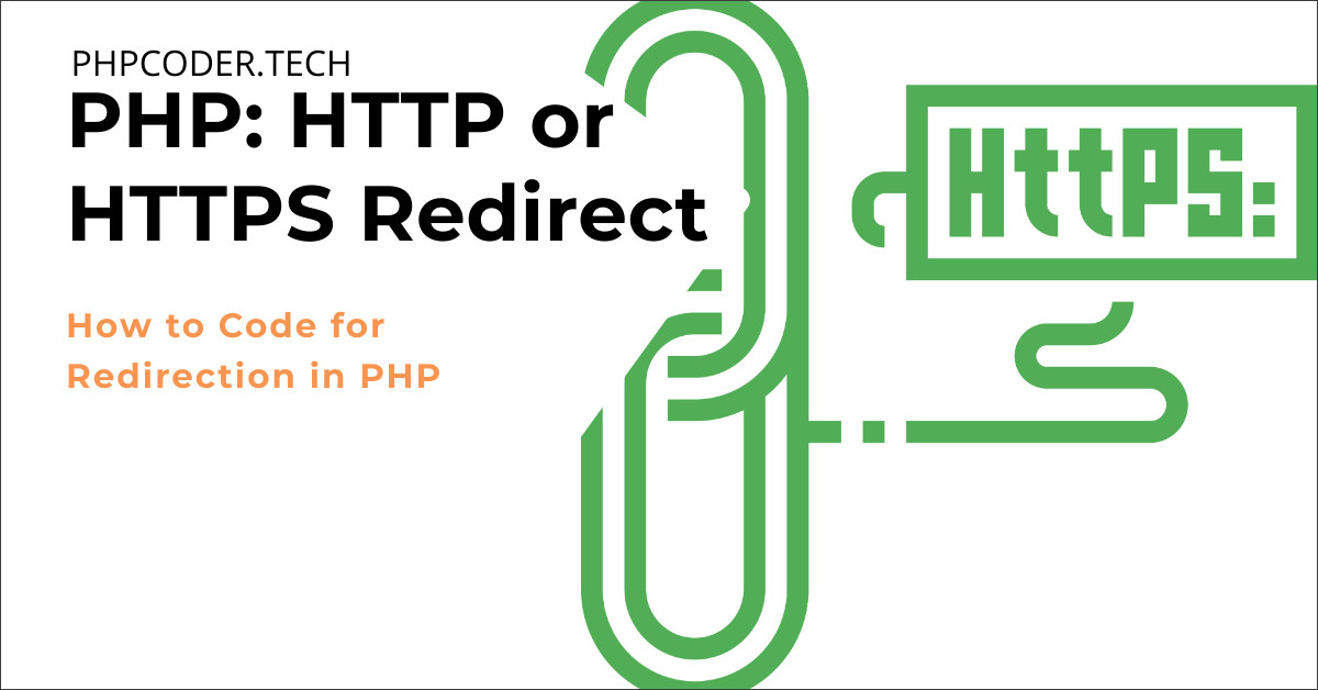 PHP HTTP or HTTPS Redirect