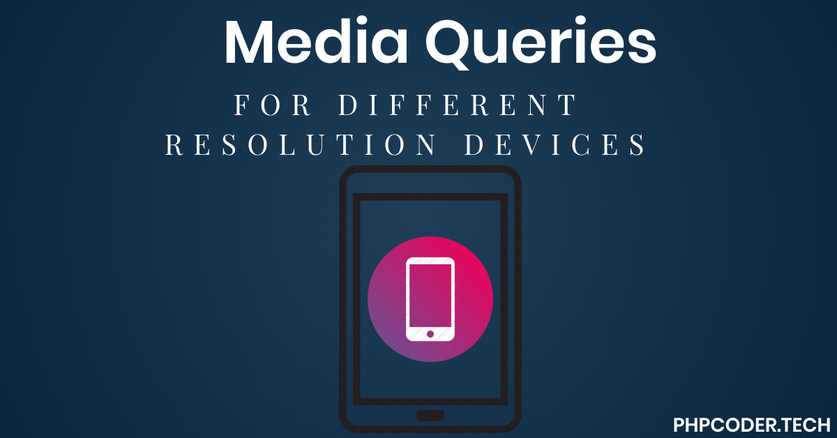 media queries in css