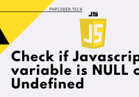 javascript check if undefined