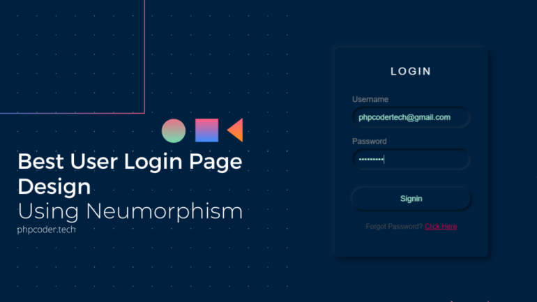 Best-User-Login-Page-Design-Using-Neumorphism