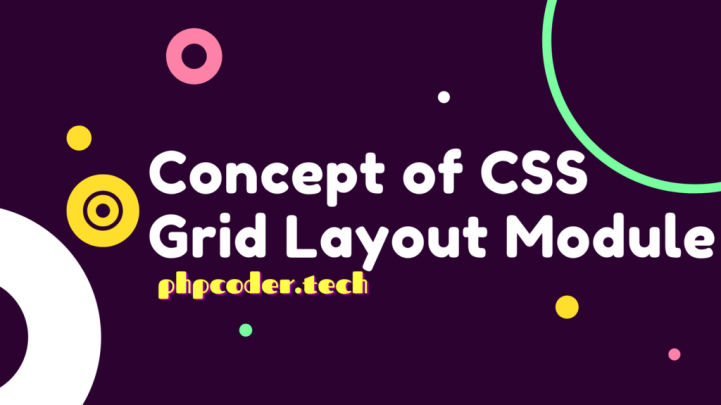 Concept of CSS Grid Layout