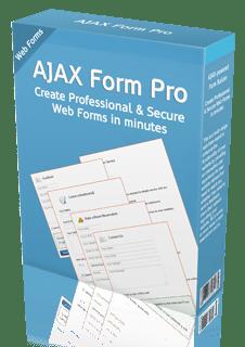 AJAX Form Pro V2 Script PHP and ASP
