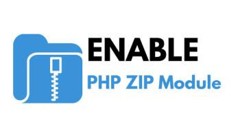 PHP ZIP module banner