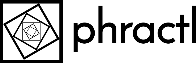 phractl logo with text black