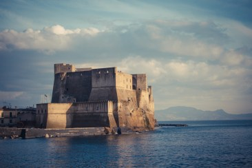 Napoli a febbraio.